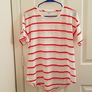 NWOT Madewell top Size L